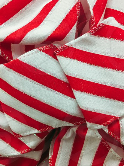 Stripes red and white  photo