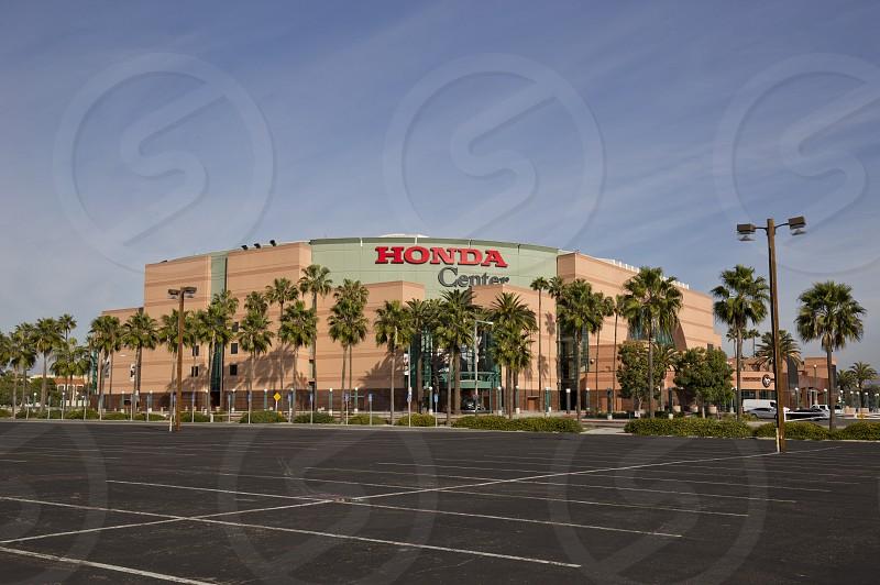 honda center concerts hockey venue anaheim california photo