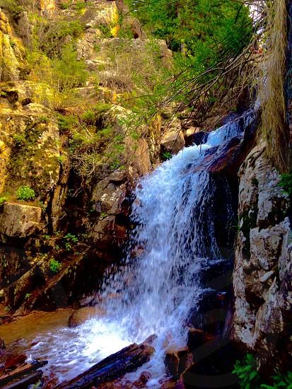 Waterfall Colorado hiking  photo