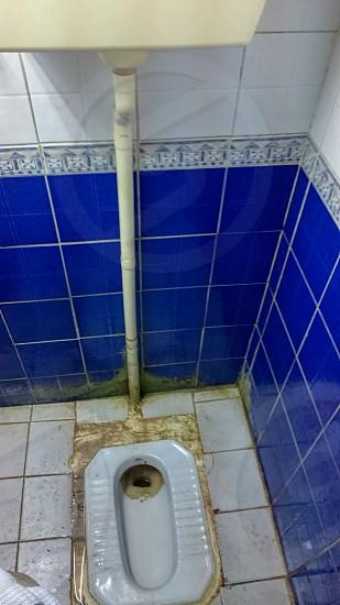 Arabian digusting toilet in Dubai photo