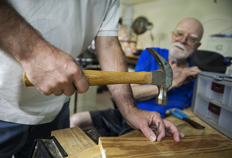 Learning woodworking from a retired master carpenter photo