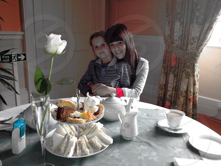 Afternoon tea.  photo