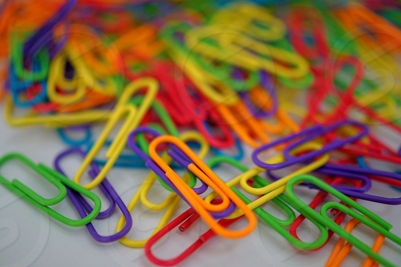 Paperclips photo