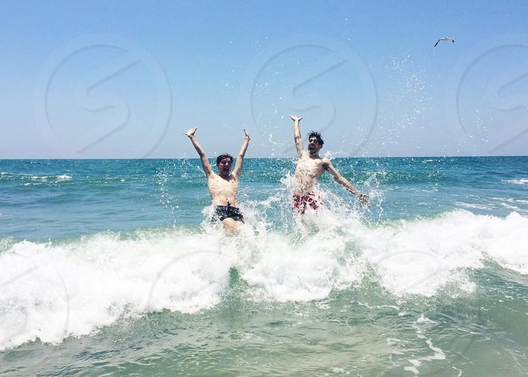 summer waves free ocean beach photo