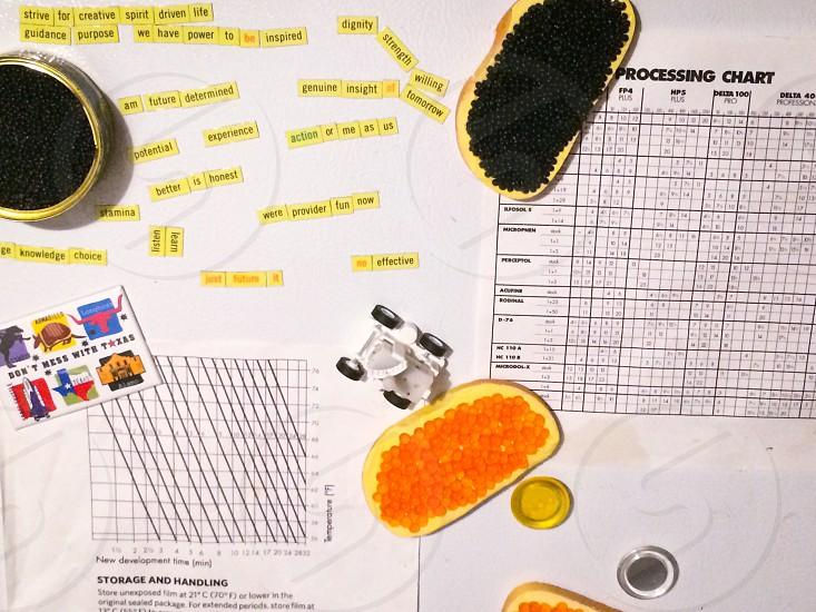processing chart photo