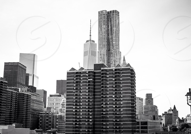 NYC; Architecture; Buildings; New York; The View from work; skilled builder; little old & New; photography   photo