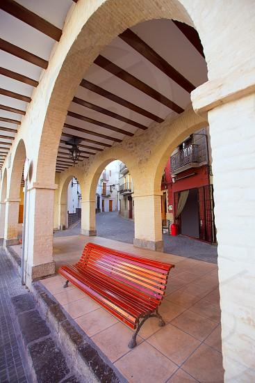 Jerica Castellon village arches in Alto Palancia of Spain Valencian Community photo