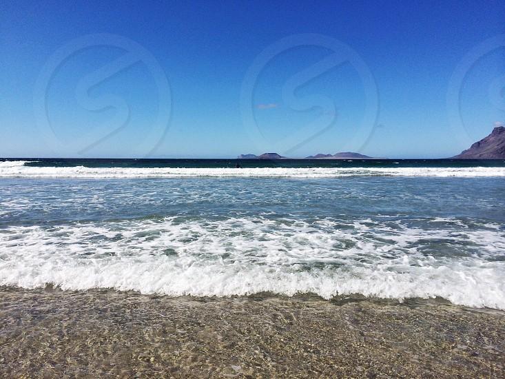 Canary Islands Lanzarote Famara.  photo