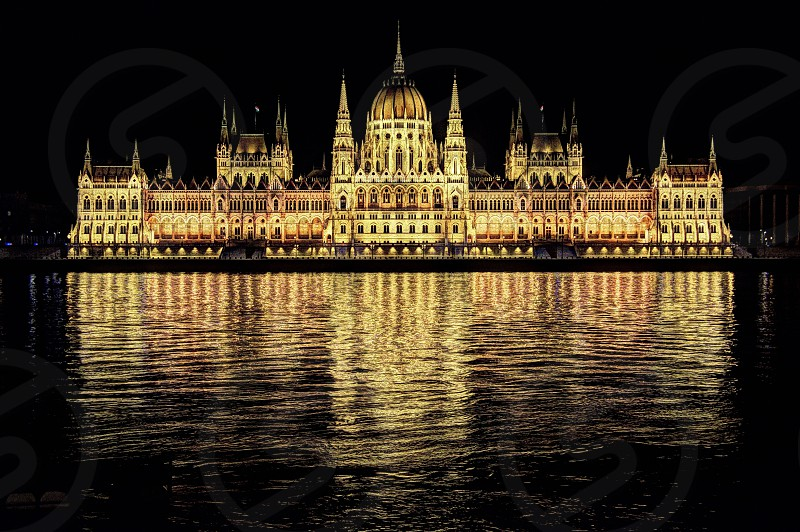 Budapest The parliament photo