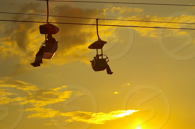 sunset skyride photo