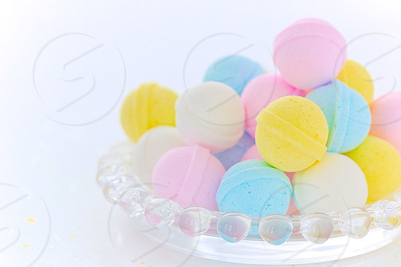 spring colors pastel colors candy japanese candy wagashi bright sweet lovely soft tender indoor day light macro close-up horizontally long laterally long oblong DSLR camera photo