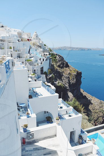 Santorini Greece  photo