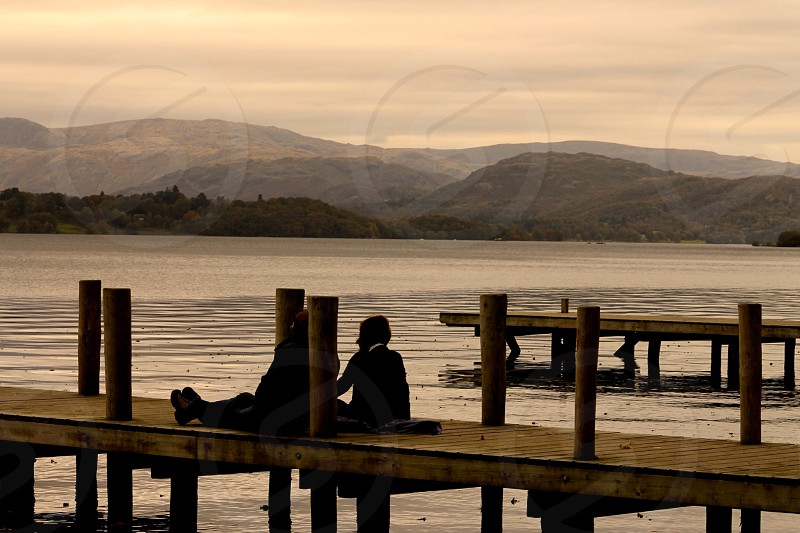 Reflection and inspiring moments on Lake Windermere Lake District photo