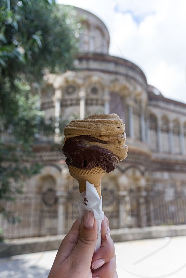 An afternoon in Sicily Italy - gelato photo