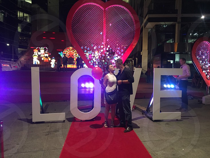 Valentine's Day Melbourne 2016 locked in our love  photo