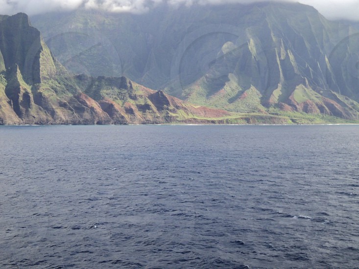 Mountains in Hawaii where lost was filmed photo