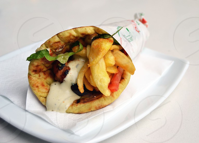 Gyro in Greece photo
