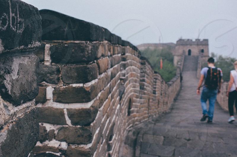 The Great Wall of china China travel wall abroad photo