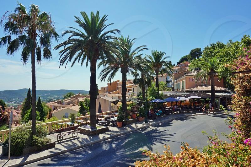 Bormes-les-Mimosas in Var French Riviera photo