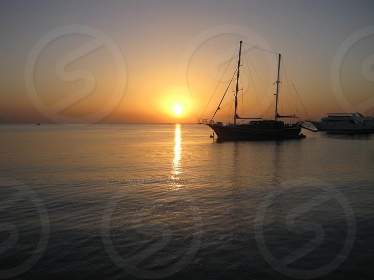 sunrise at sharm elshikhegypt photo