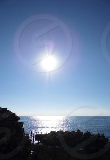 Beautiful sun Cyprus photo