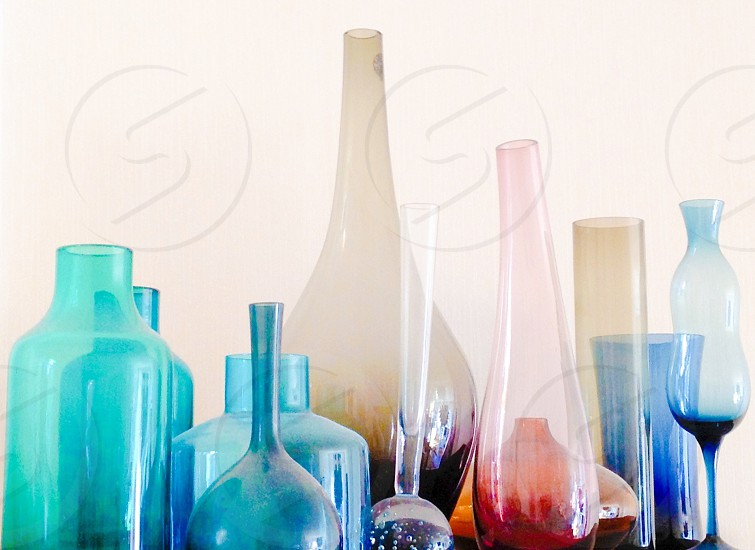 I collect colored glass photo