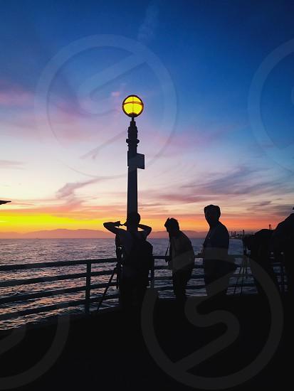 Manhattan Beach Pier - We'll leave a light on for ya!!! photo