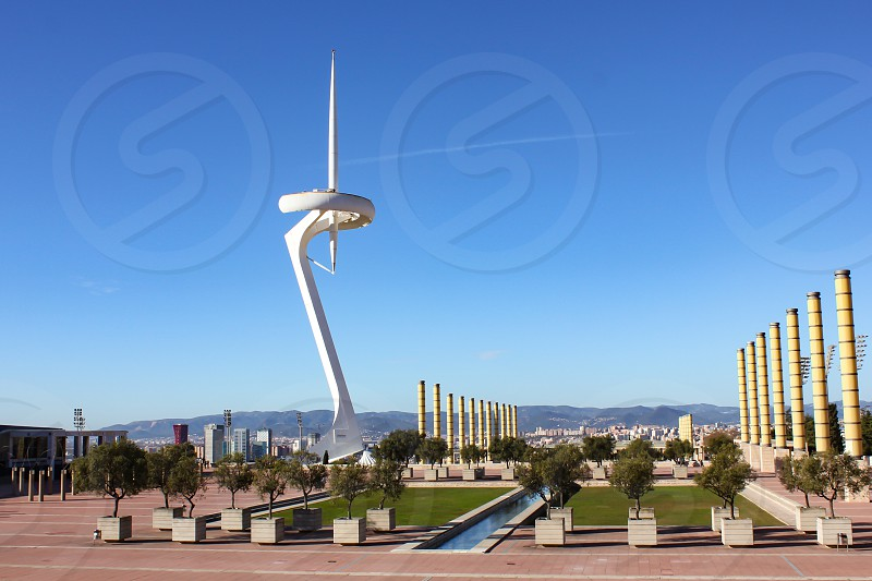 Olympic park Barcelona photo