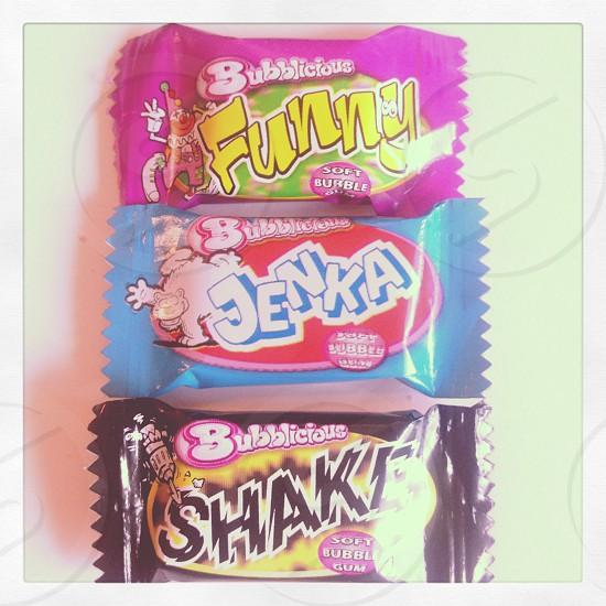 chewing nostalgia bubblegum swedish retro funny jenka shake flavor photo