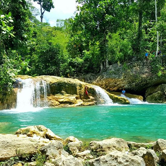 Photo taken during our vacation at Bao-Bao Falls in Surigao Del Sur photo