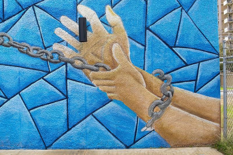 San Antonio Texas Street Art Graffiti photo