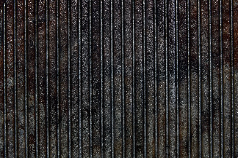 Cast iron grill black steel texture lines pattern photo