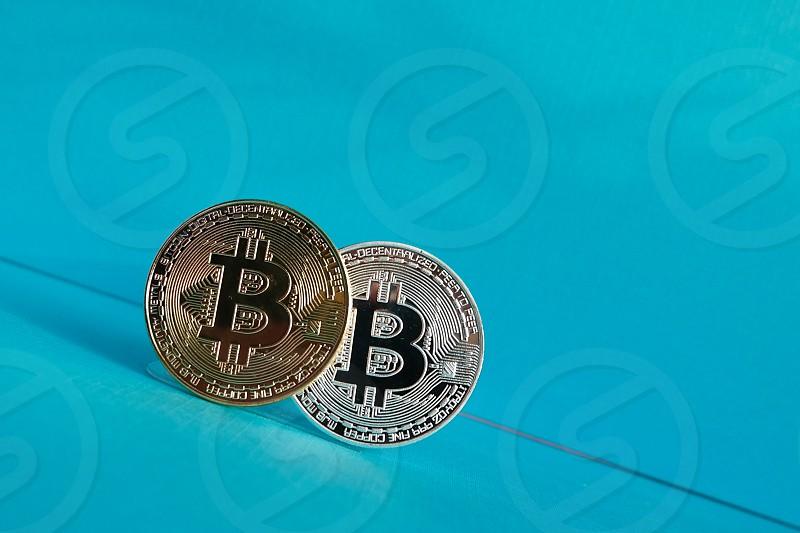 a bitcoin coin photo