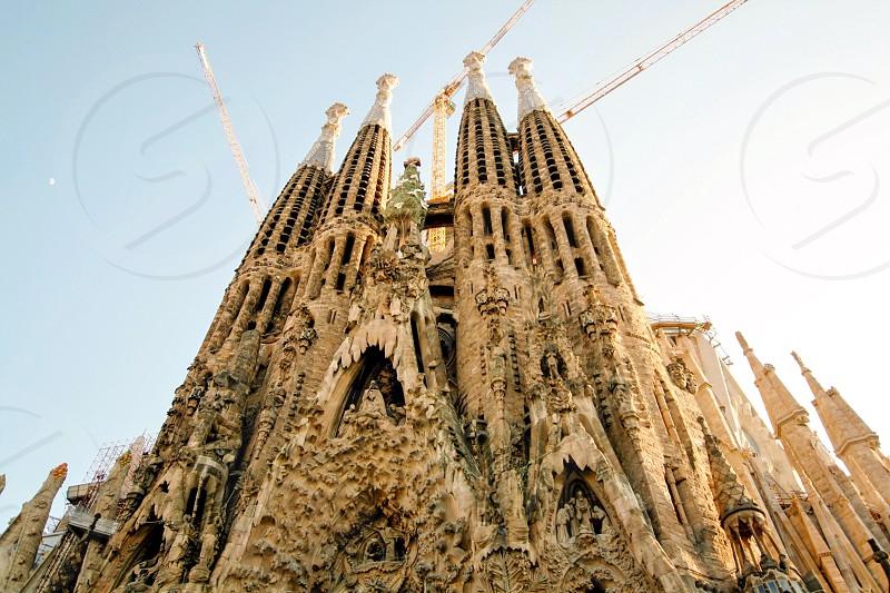 La Sagrada Familia- Barcelona Cataluña España  photo