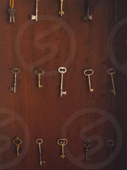 brass keys photo