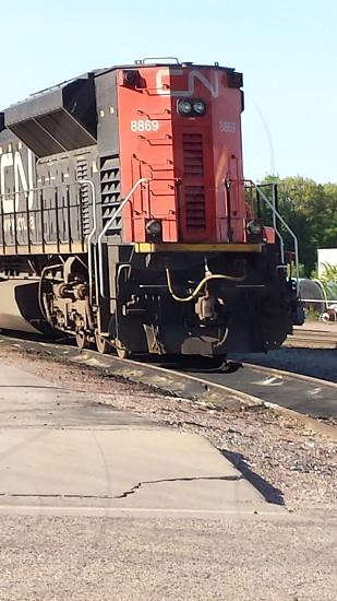 Train Coming at you photo