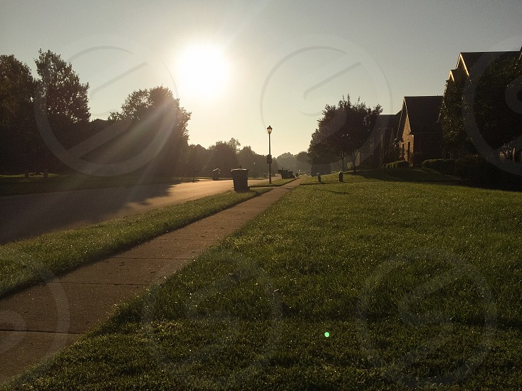 Suburbs in the morning.  photo