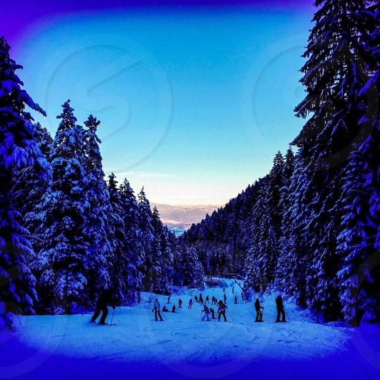 Bansko Ski Road Mountain View photo