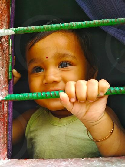 A cute indian chaild photo