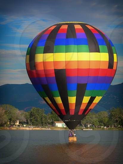 """Pot of Gold"" Hot Air Balloon photo"