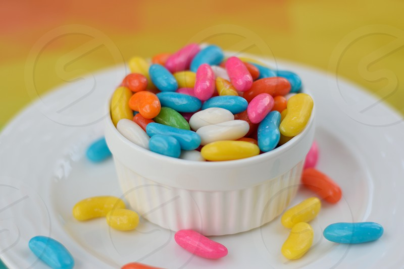 colourful candies photo