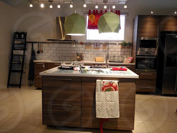 kitchen interior decor photo