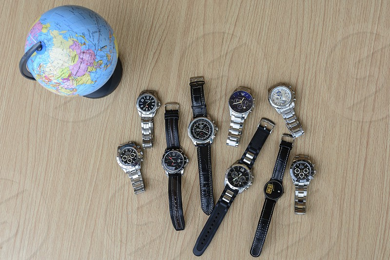Watch collection photo