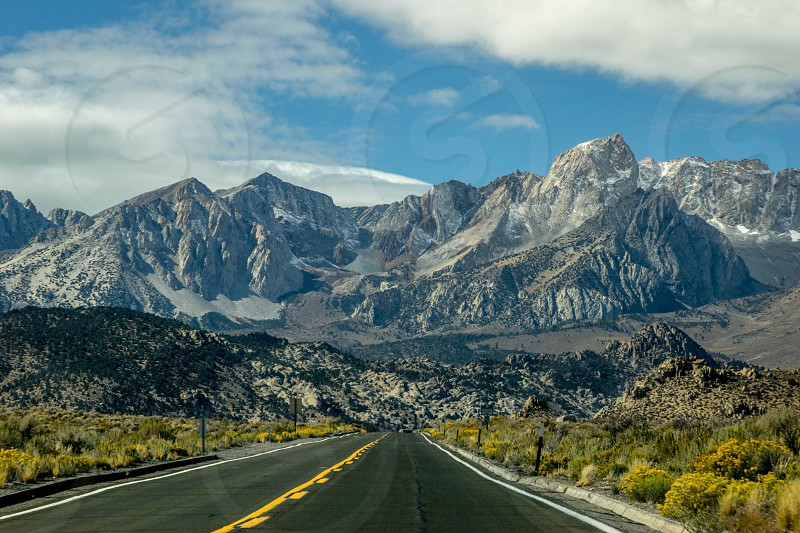 A short drive outside of of Bishop California.  photo