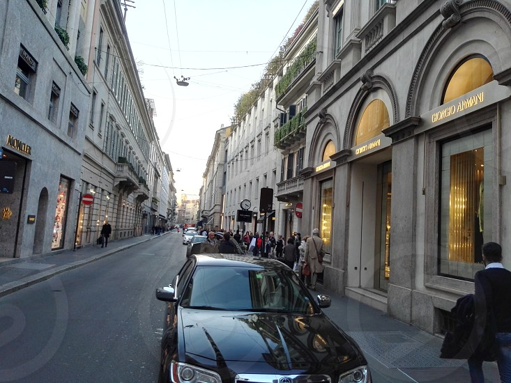 Via MonteNapoleone Milano photo