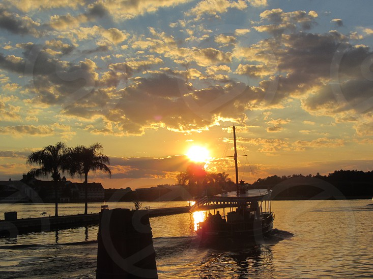 Sunset Over Florida Waters photo