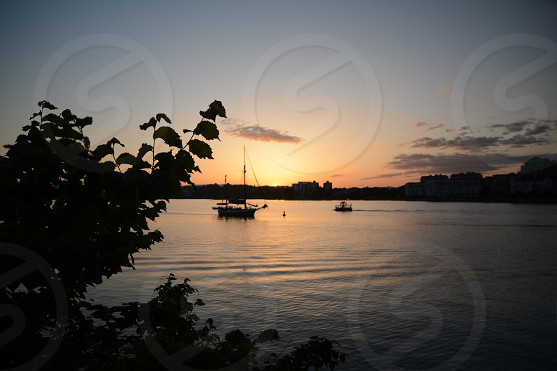 Sunset Victoria Canada photo