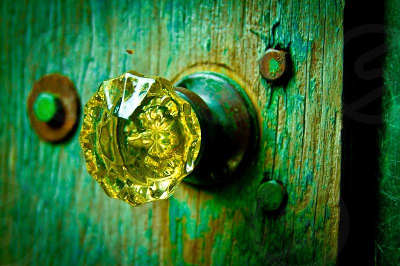 Door knob photo