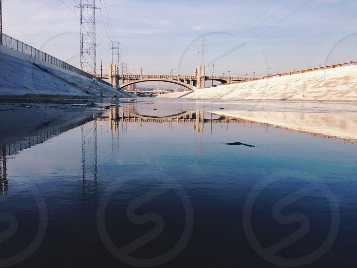 brown bridge photo