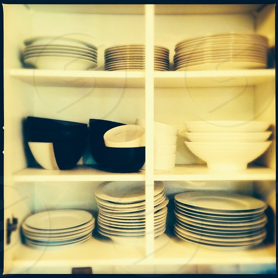 Dishes - close up photo